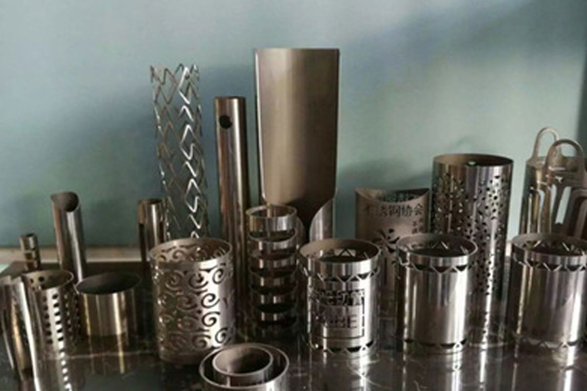 Our laser cutting machine can cut 304, 316, and other difficult stainless steels