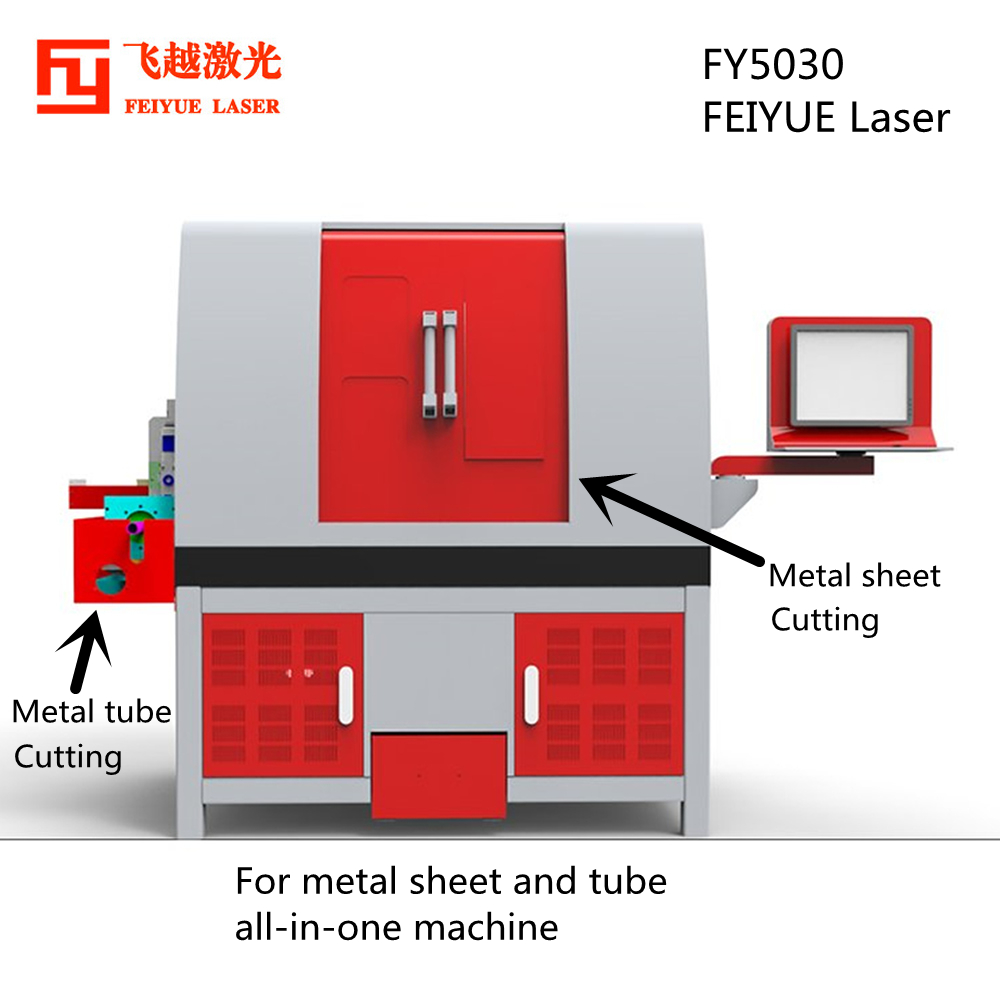 04 FY5030 sheet and tube laser cutter-1000X1000-01